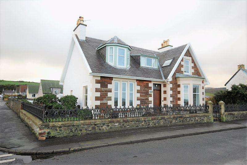 4 Bedrooms Detached House for sale in 40 Foreland, Ballantrae, Girvan KA26 0NQ