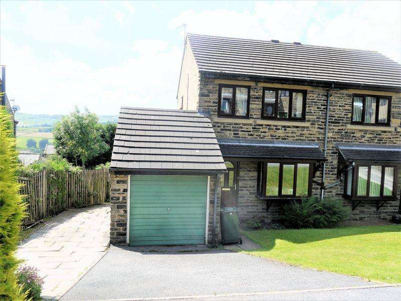 3 Bedrooms Semi Detached House for sale in High Cliffe Close, Thornton, BD13 3EH