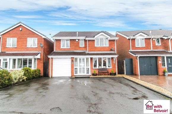 4 Bedrooms Detached House for sale in Rowan Drive, Essington, Wolverhampton