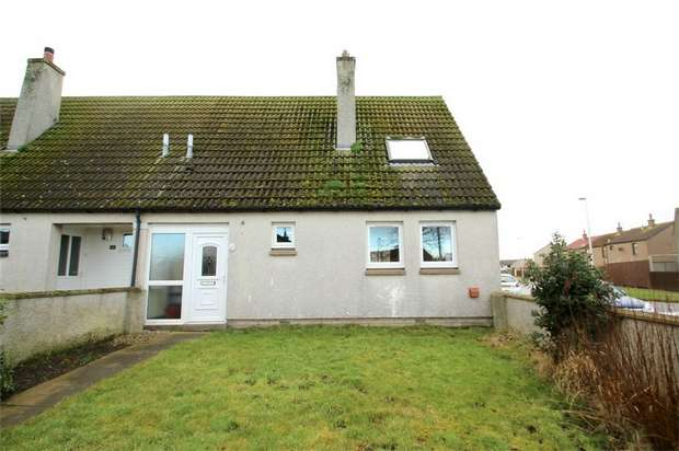 3 Bedrooms Semi Detached House for sale in 16 Hillview Place, LOSSIEMOUTH, Moray