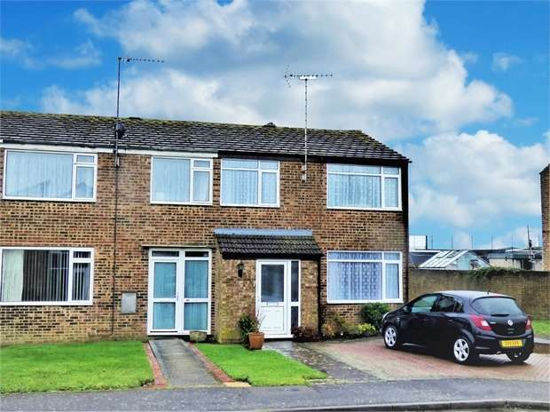 3 Bedrooms End Of Terrace House for sale in Winston Crescent, Brackley, Northamptonshire