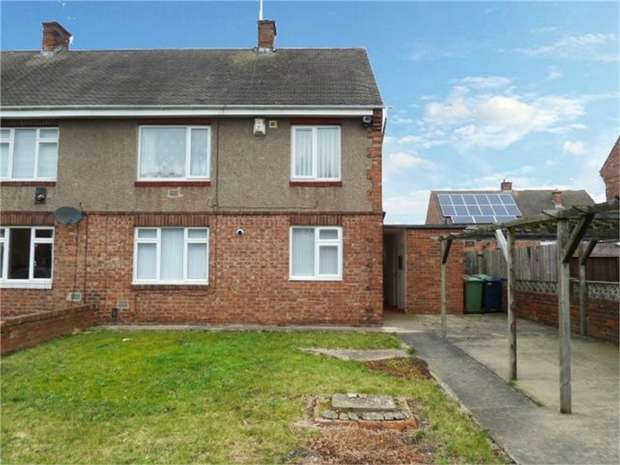 1 Bedroom Flat for sale in Wharfedale Avenue, Washington, Tyne and Wear