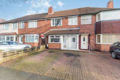 3 Bedrooms Terraced House for sale in Hathersage Road, Great Barr, Birmingham, West Midlands