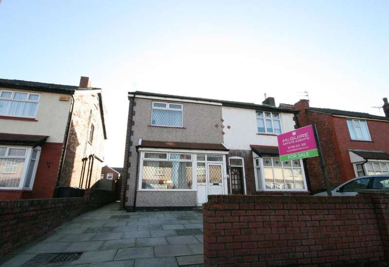 3 Bedrooms Semi Detached House for sale in Pool Street, Southport, PR9 8HZ