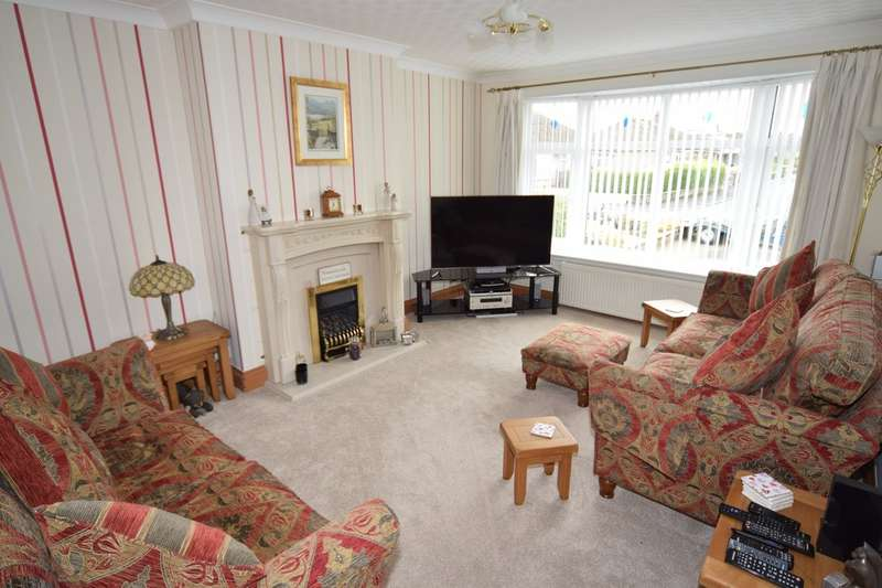 3 Bedrooms Semi Detached Bungalow for sale in Savoy Gardens, Ulverston, Cumbria, LA12 9LR
