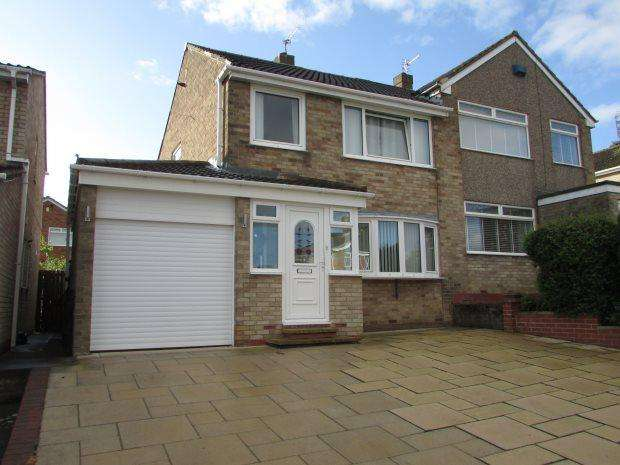 3 Bedrooms Semi Detached House for sale in ROSEDALE, SPENNYMOOR, SPENNYMOOR DISTRICT