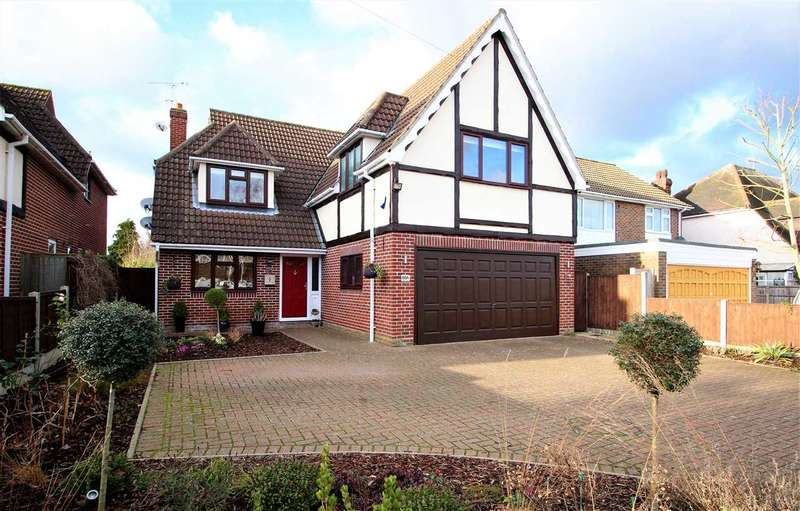 5 Bedrooms Detached House for sale in Sebastian Avenue, Brentwood