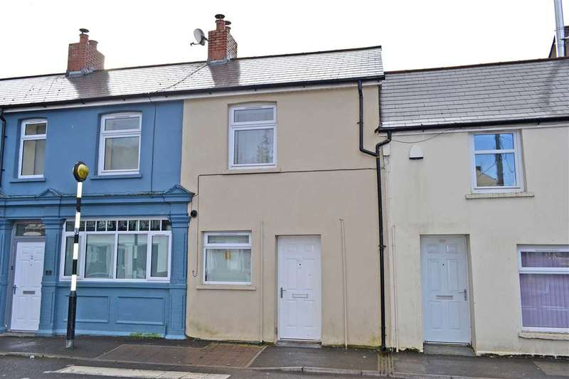 2 Bedrooms Terraced House for sale in CASTLE MEWS, MERTHYR ROAD, TONGWYNLAIS, CARDIFF