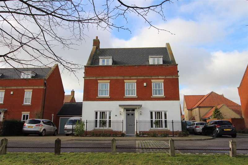 5 Bedrooms Detached House for sale in Mansbrook Boulevard, Ipswich