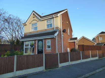3 Bedrooms Detached House for sale in Oakham Drive, Selston, Nottingham