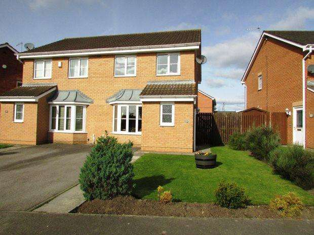3 Bedrooms Semi Detached House for sale in BROADOAKS, MURTON, SEAHAM DISTRICT