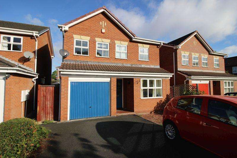 3 Bedrooms Detached House for sale in Kirkwood Court, Shrewsbury