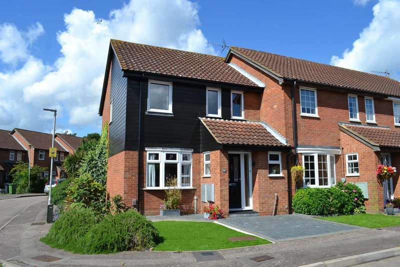 3 Bedrooms End Of Terrace House for sale in Hollyfields, Cheshunt EN10