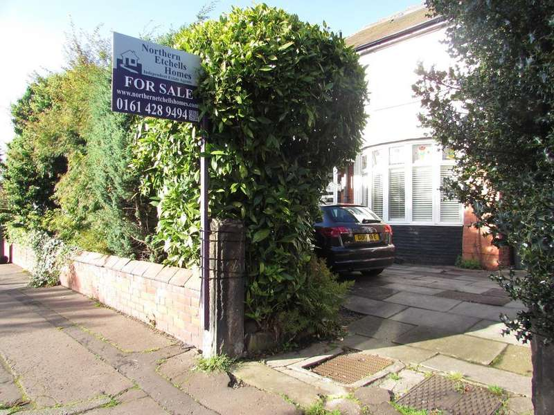 3 Bedrooms Semi Detached House for sale in Orchard Road East, Northenden/Didsbury Boarder, Manchester, M22