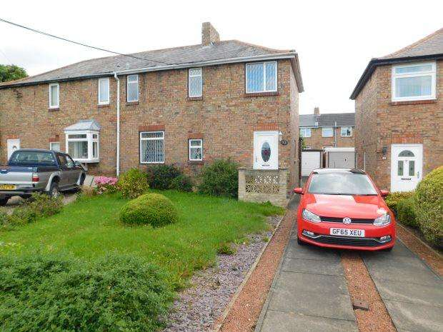 3 Bedrooms Semi Detached House for sale in PARK HOUSE GARDENS, SHERBURN VILLAGE, DURHAM CITY : VILLAGES EAST OF