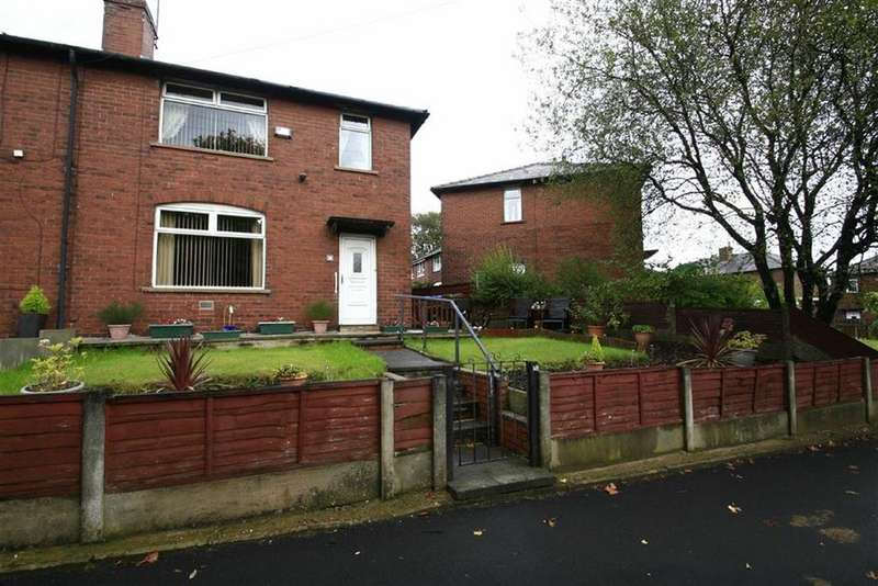 3 Bedrooms Semi Detached House for sale in 18, Stopford Avenue, Smithy Bridge, Littleborough, OL15