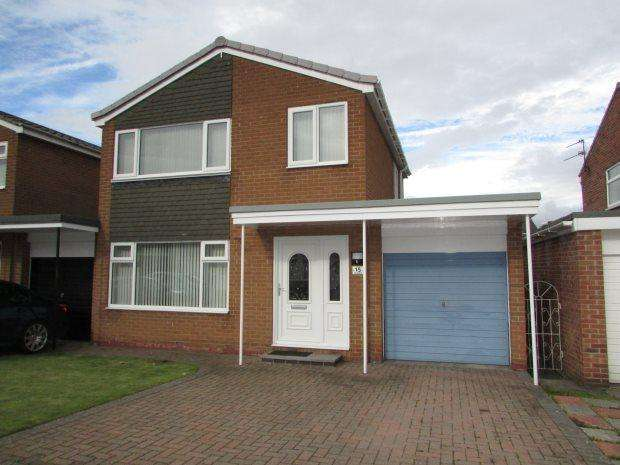 3 Bedrooms Detached House for sale in KENTMERE, SPENNYMOOR, SPENNYMOOR DISTRICT