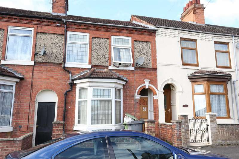 3 Bedrooms Terraced House for sale in Melton Road, Wellingborough