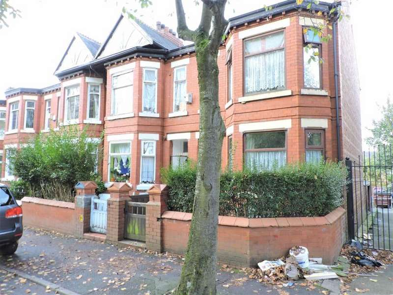 4 Bedrooms End Of Terrace House for sale in East Road, Longsight, Manchester