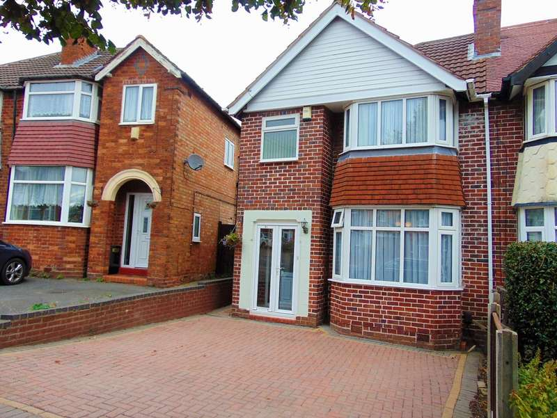 3 Bedrooms Semi Detached House for sale in Farren Road, Northfield B31