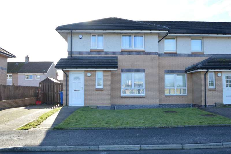 3 Bedrooms End Of Terrace House for sale in Avenue End Drive, Glasgow