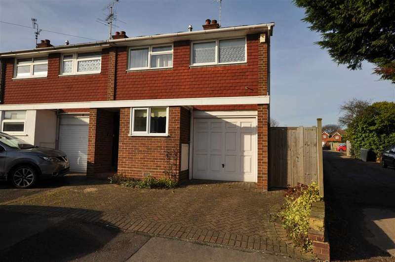 3 Bedrooms End Of Terrace House for sale in Barnfield Mews, Chelmsford