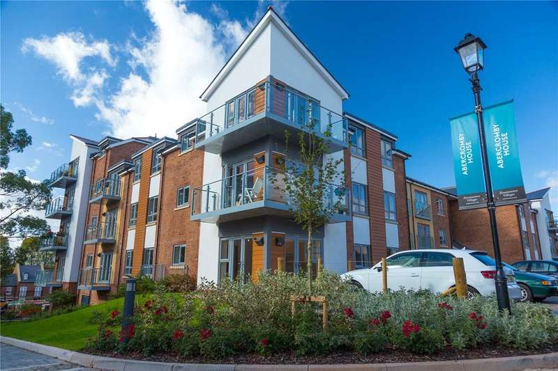 2 Bedrooms Retirement Property for sale in Abercromby House, Millbrook Village, Topsham Road, Exeter, EX2