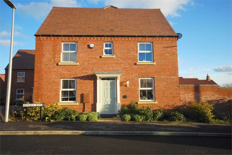 3 Bedrooms Semi Detached House for sale in Betony Road, Coton Park, RUGBY, Warwickshire