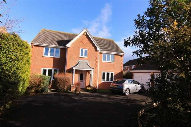 4 Bedrooms Detached House for sale in The Cornfields, North Somerset