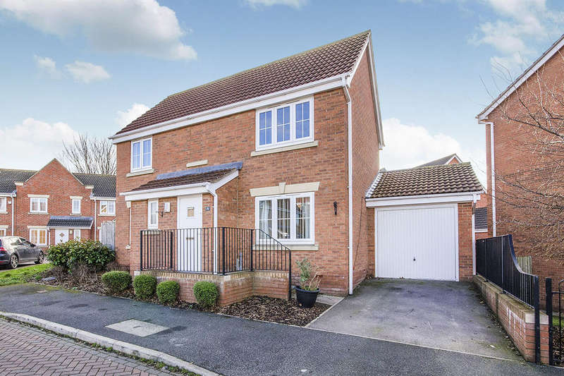 4 Bedrooms Detached House for sale in The Wharf, Knottingley, WF11