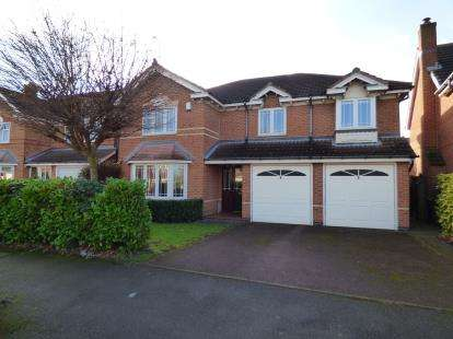 5 Bedrooms Detached House for sale in Colwell Drive, Boulton Moor, Derby, Derbyshire