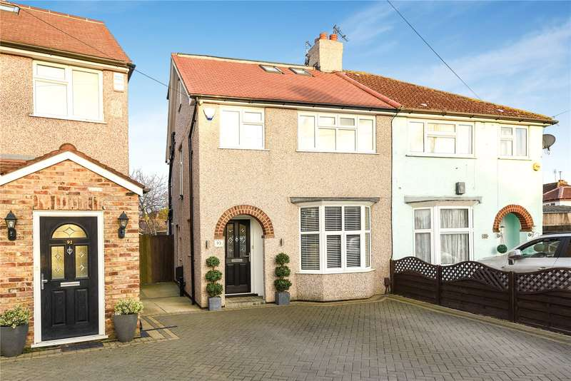4 Bedrooms Semi Detached House for sale in Dickens Avenue, Hillingdon, Middlesex, UB8