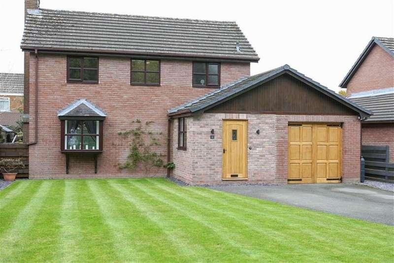 3 Bedrooms Detached House for sale in The Plantation, PRESTEIGNE, Presteigne, Powys