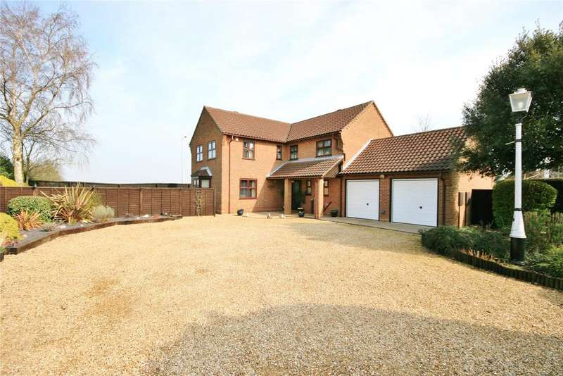 4 Bedrooms Detached House for sale in Old Main Road, Fleet Hargate, PE12