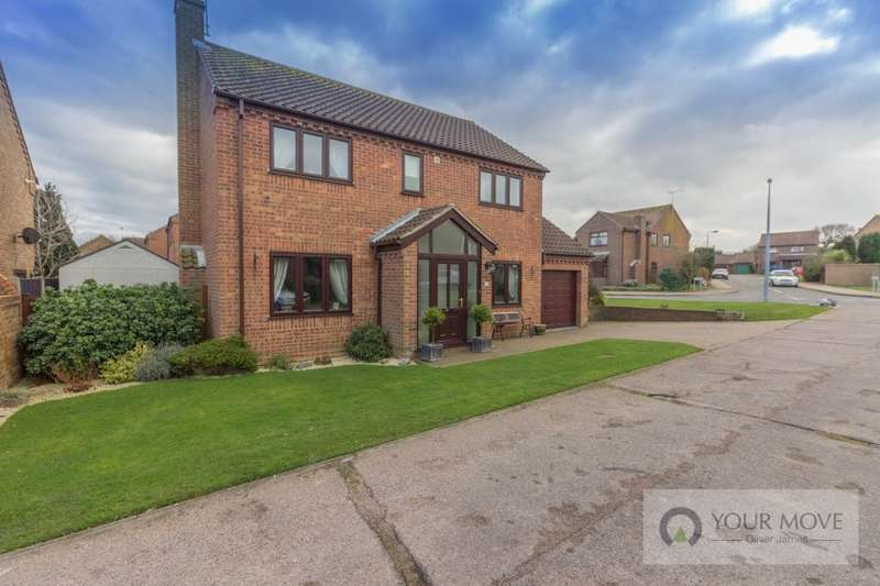 4 Bedrooms Detached House for sale in Sea View Rise, Hopton, Great Yarmouth, NR31