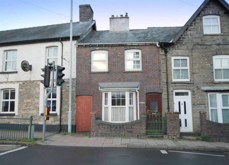 2 Bedrooms End Of Terrace House for sale in North Street, Rhayader