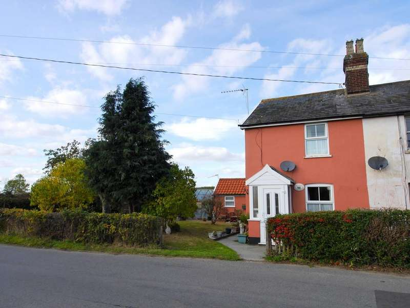 2 Bedrooms Cottage House for sale in The Street, Aldham, Ipswich, Suffolk, IP7 6NL