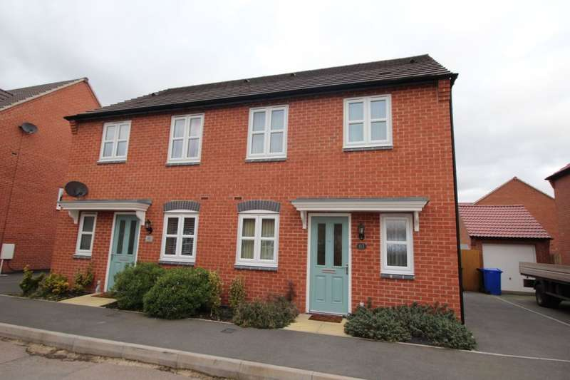 3 Bedrooms Semi Detached House for sale in Perle Road, Burton-On-Trent, DE14