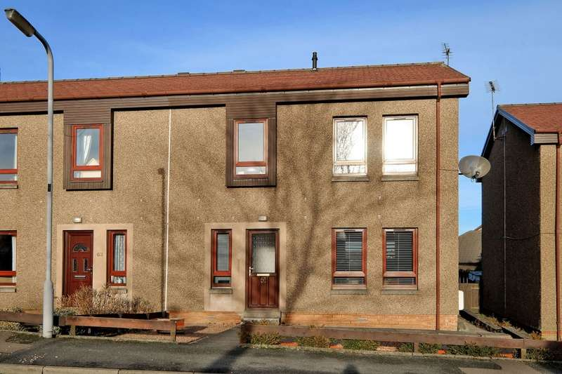 3 Bedrooms Semi Detached House for sale in Brands Butt, Inverurie, Aberdeenshire, AB51 4DE