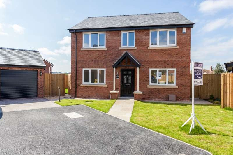 4 Bedrooms Detached House for sale in Heathview Chester Road, Nomans Heath, Malpas, SY14