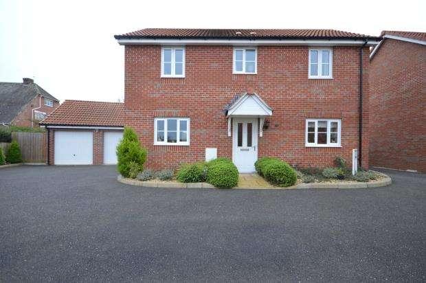 3 Bedrooms Detached House for sale in Southbrook Meadow, Rockbeare, Near Exeter, Devon