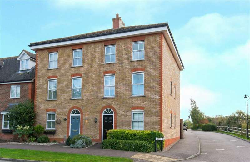 4 Bedrooms Semi Detached House for sale in Harrier Mill, Henlow, Bedfordshire