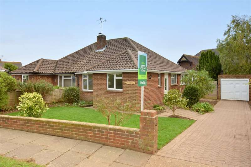 2 Bedrooms Semi Detached Bungalow for sale in Greenoaks, North Lancing, West Sussex, BN15