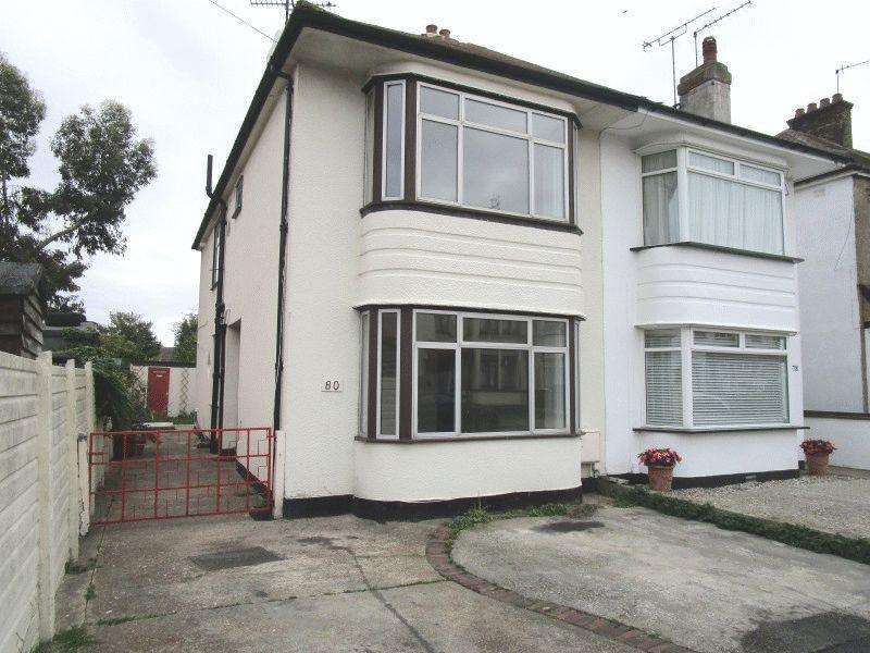 3 Bedrooms Semi Detached House for sale in Seaforth Avenue, Southend-On-Sea