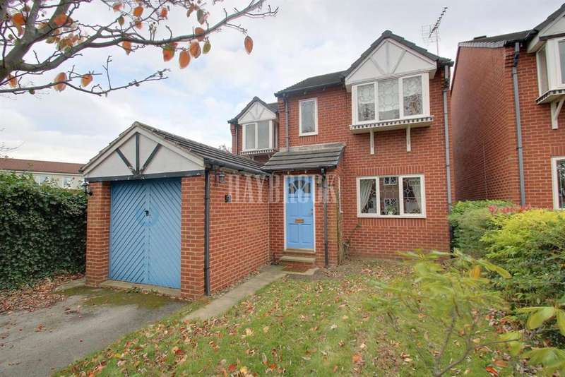 4 Bedrooms Detached House for sale in Bishop Gardens, Woodhouse