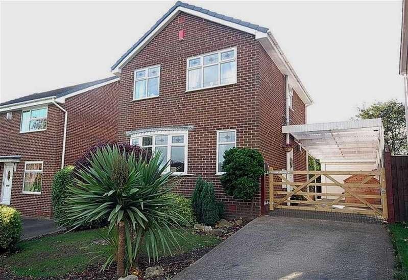 3 Bedrooms Detached House for sale in Park Lea, Bradley, Huddersfield, HD2