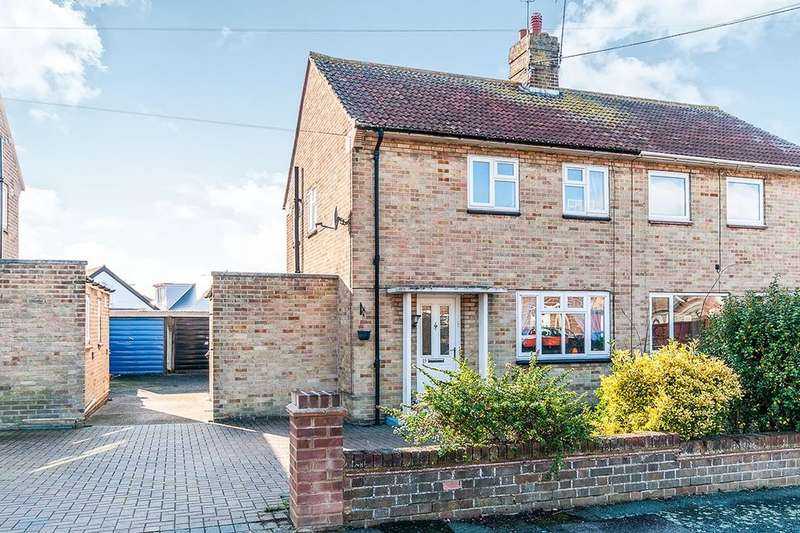 2 Bedrooms Semi Detached House for sale in St. Annes Drive, Herne Bay, CT6