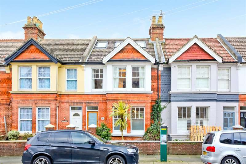 4 Bedrooms Terraced House for sale in Frith Road, Hove, East Sussex, BN3