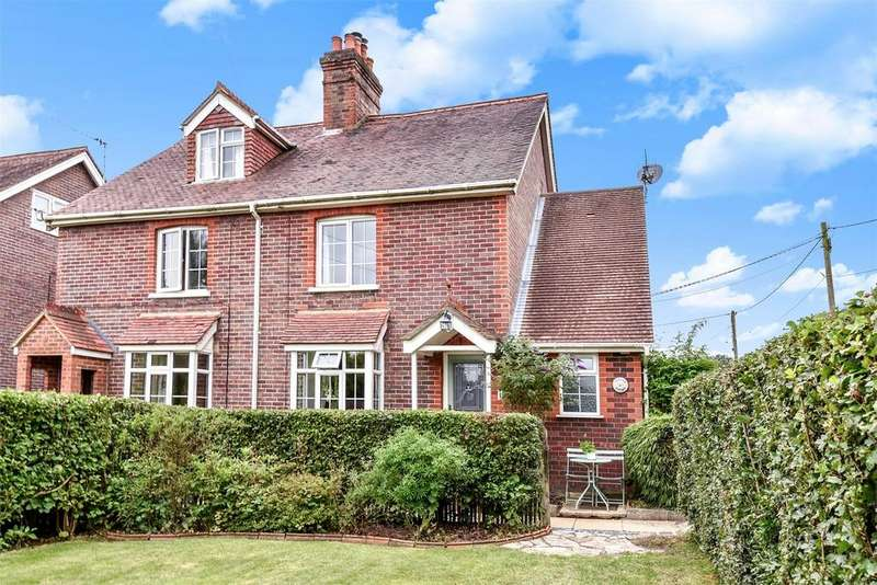 4 Bedrooms Semi Detached House for sale in Greatham, Liss, Hampshire