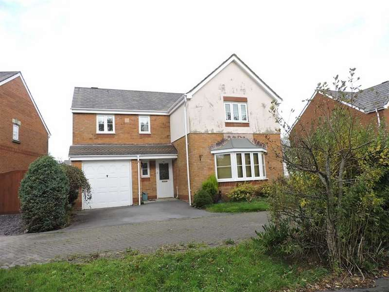 4 Bedrooms Detached House for sale in Bryn Dreinog, Capel Hendre